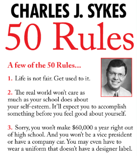 Charles J. Sykes 50 Rules