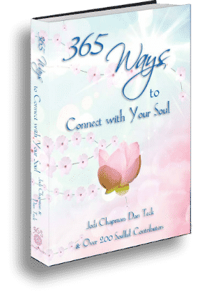 365 ways to connect to your soul book cover image 300x418px