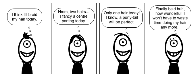 Positive Cartoon Lessons 11 - The Eternal Optimist
