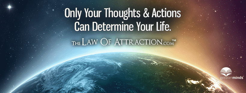 Personal development Facebook pages - The Law Of Attraction