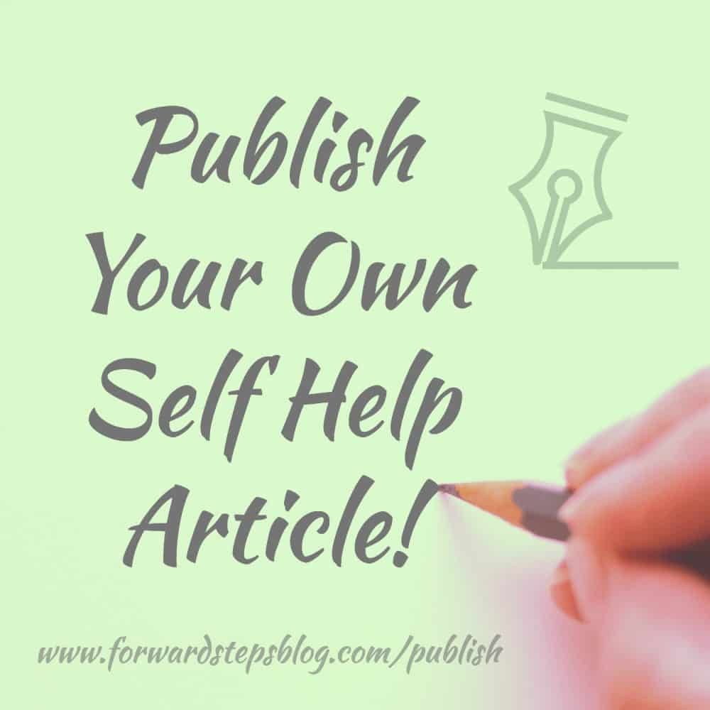 Have you written a self improvement article that you might like to publish?  http://www.forwardstepsblog.com/publish