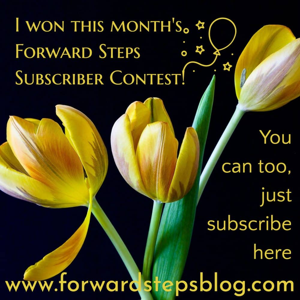 Subscriber Contest Forward Steps image 1