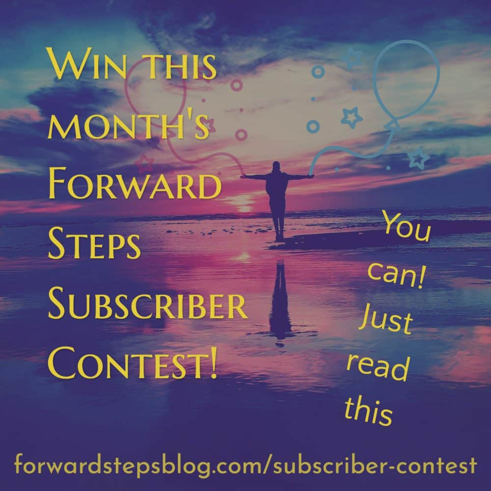 Subscriber Contest Forward Steps image 5
