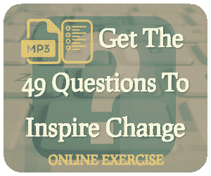 Forward Steps Self Improvement Products 49 questions to inspire change