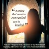 Guy Finley - Nothing that remains concealed can be healed quote image