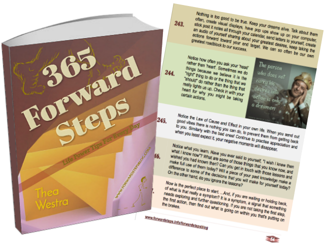 365 Forward Steps: Life Power Tips For Every Day