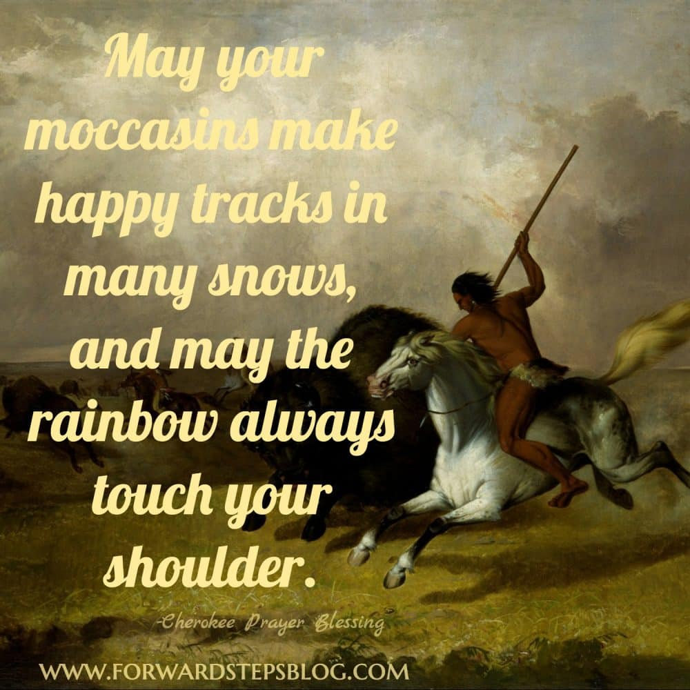 May the rainbow always touch your shoulder #forwardsteps http://www.forwardstepsblog.com/2012/06/may-the-rainbow-always-touch-your-shoulder