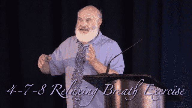 4-7-8 Relaxing Breath Exercise Video Image