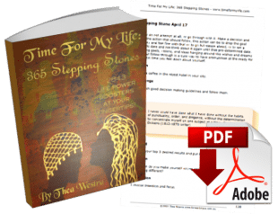 Forward Steps Self Improvement Products Time For My Life PDF eBook Cover